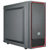 Cooler Master MasterBox E500L Mid-Tower ATX Case Red