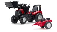 Falk: Case IH Puma Pedal Tractor - Front Loader with Trailer image