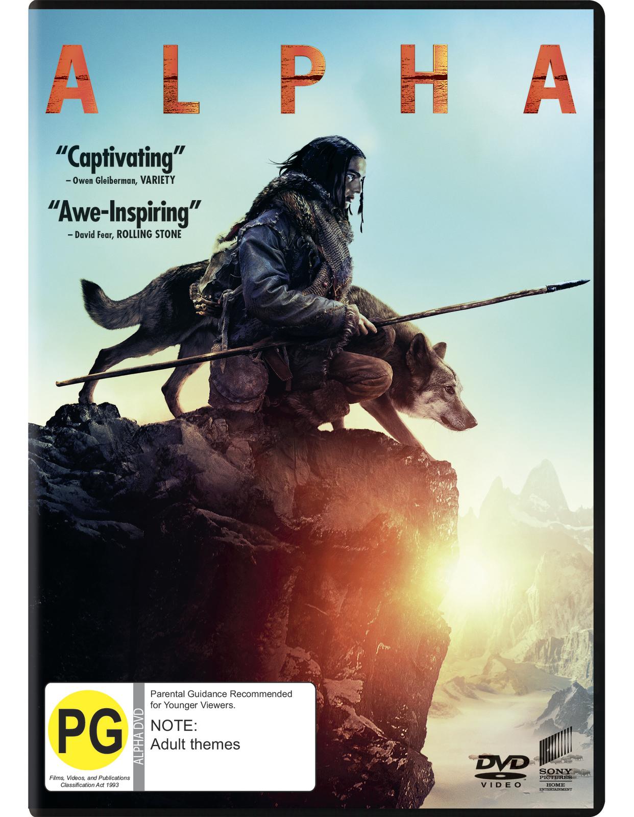 Alpha on DVD image