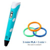 Ape Basics: USB 3D Drawing Printer Pen with Refills - Blue