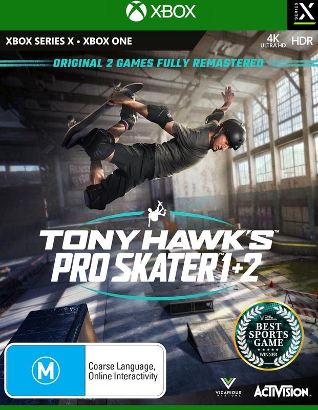 Tony Hawk's Pro Skater 1 & 2 for Xbox Series X