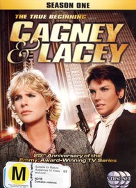 Cagney And Lacey - Season 1: The True Beginning (5 Disc Set) on DVD image