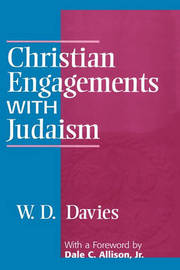 Christian Engagements with Judaism by W.D. Davies image
