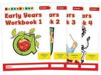 Early Years Workbooks: No. 1-4 by Louis Fidge