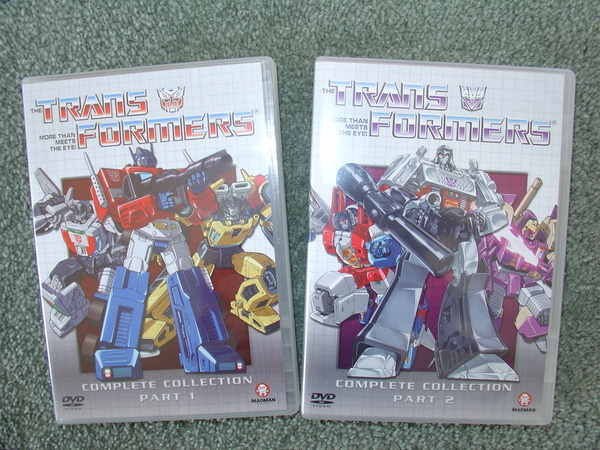 Transformers (1984) - Complete Collection (17 Disc Box Set) (No Tin Box) on DVD