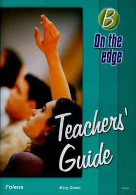 On the edge: Level B Set 1 - Teacher Book by Mike Gould