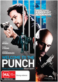 Welcome to the Punch on DVD