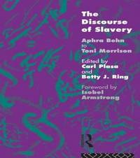 The Discourse of Slavery by Carla Plasa image