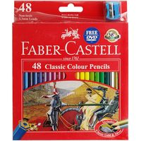 Faber-Castell Classic: Coloured Pencils - 48 Pack image