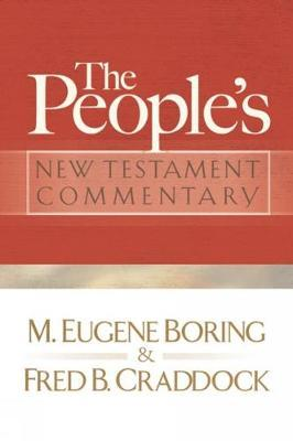 The People's New Testament Commentary by M.Eugene Boring image