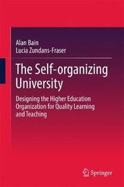 The Self-organizing University by Alan Bain image