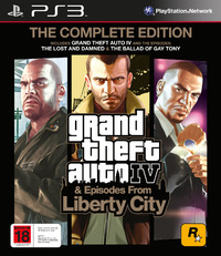 Grand Theft Auto IV: Complete Edition for PS3
