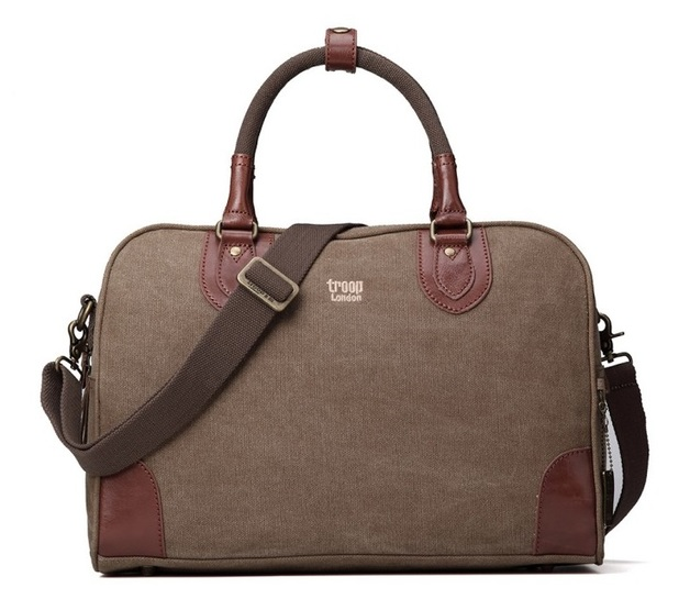 Troop London: Classic Small Holdall - Brown