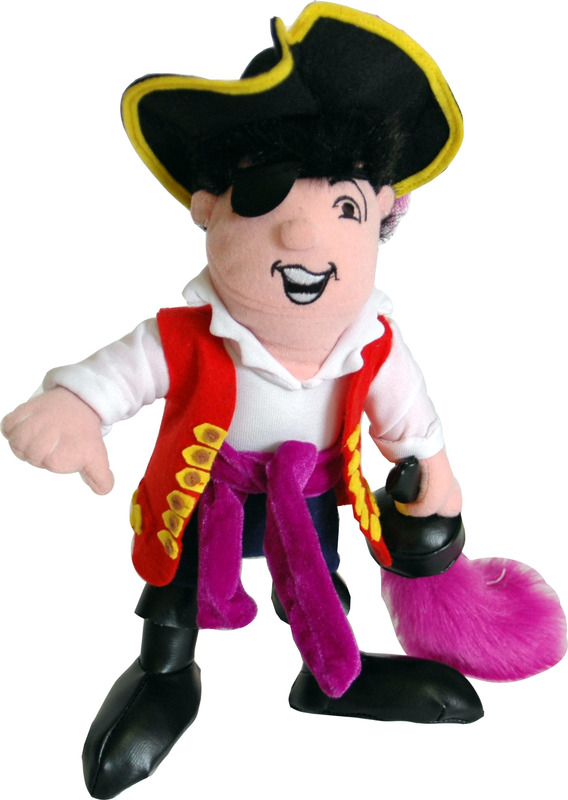 """The Wiggles: Captain Feathersword - 10"""" Plush"""