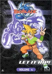 Beyblade Vol 4 on DVD