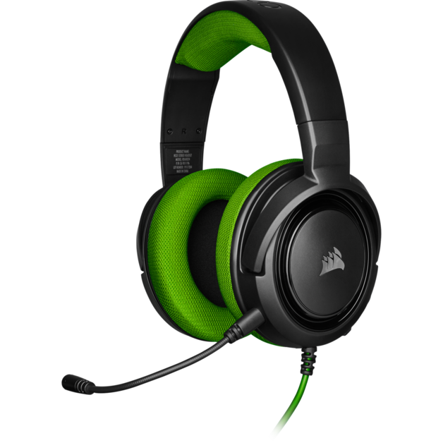 Corsair HS35 Stereo Gaming Headset (Green) for Xbox One