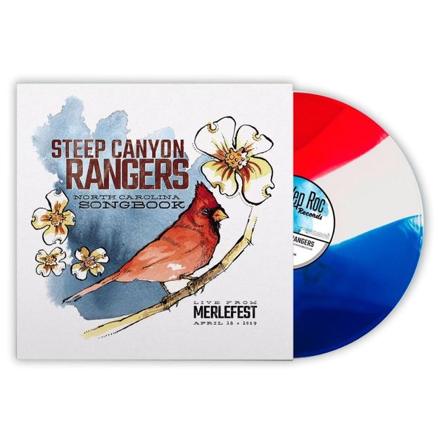 North Carolina Songbook (Tri-Colour Vinyl) by Steep Canyon Rangers