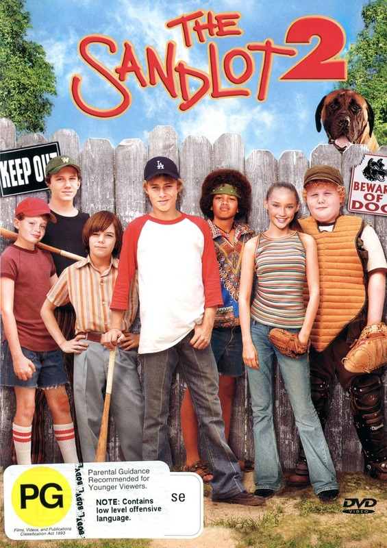 The Sandlot 2 on DVD
