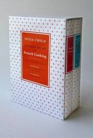 Mastering the Art of French Cooking Boxed Set (2 Volumes) by Julia Child