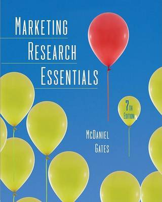 Marketing Research Essentials by Carl McDaniel image
