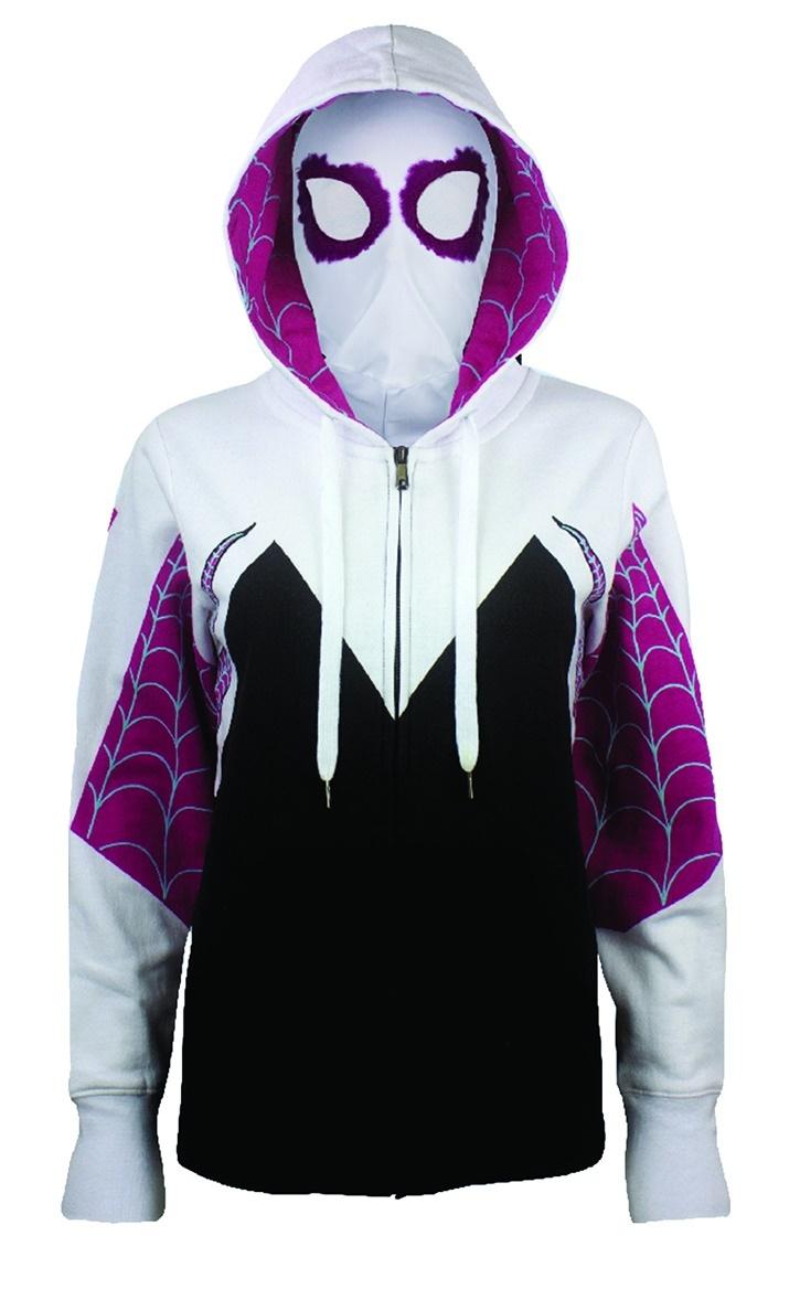 Best Tv Service >> Spider-Gwen Women's Hoodie with Mask | Women's | at Mighty Ape Australia
