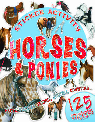 Sticker Activity Horses and Ponies image
