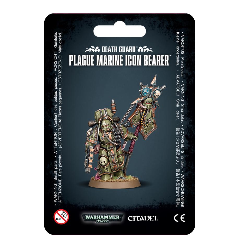 Warhammer 40,000: Death Guard - Plague Marine Icon Bearer image