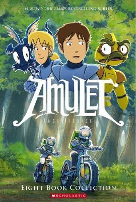 Amulet Eight Book Collection by Kazu Kibuishi