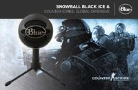 Blue Microphones Snowball iCE Microphone Counter-Strike: Global Offensive Streamer Bundle for