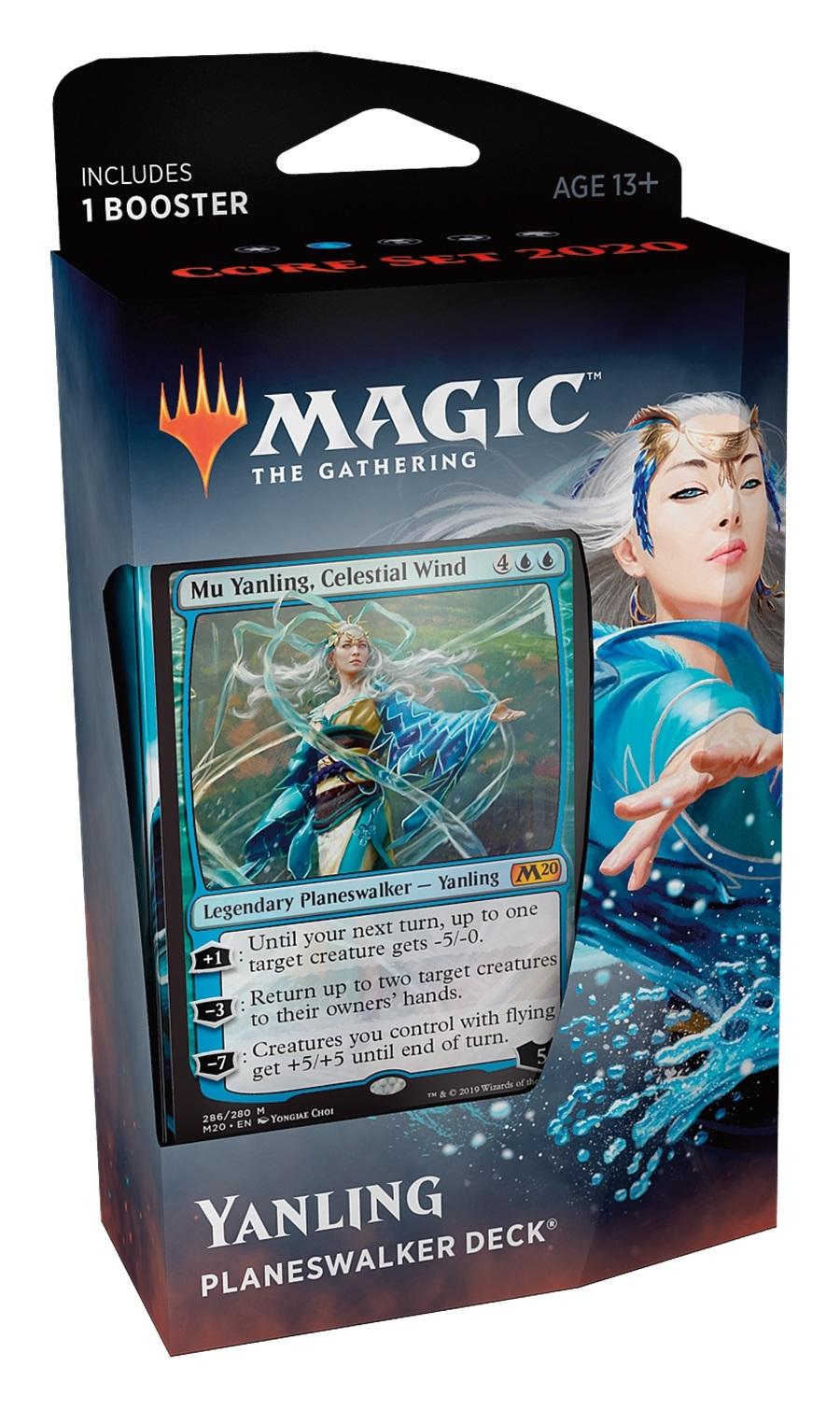 Magic The Gathering: Core Set 2020 Yanling Planeswalker Deck image