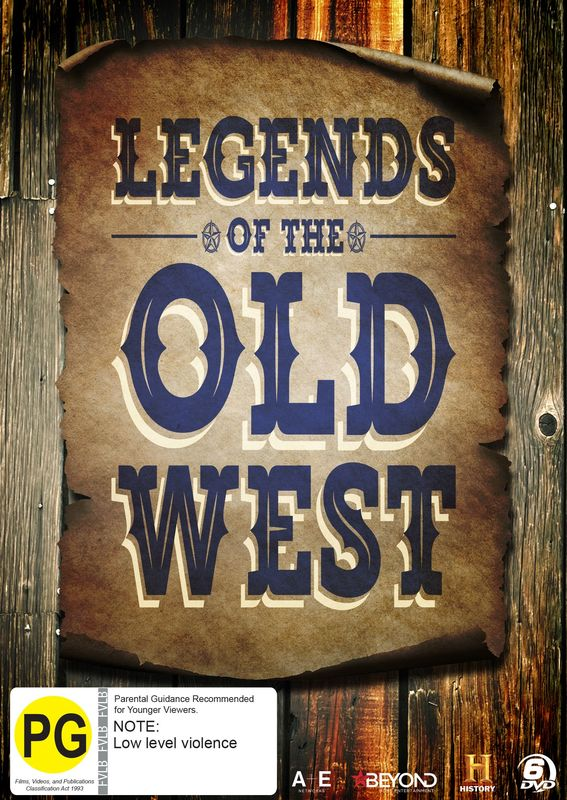 Legends of the Old West Collection on DVD
