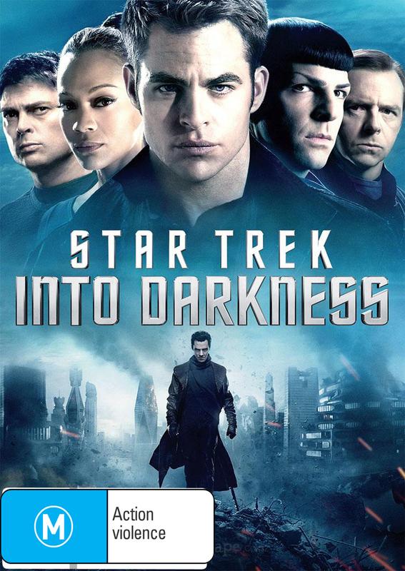 Star Trek: Into Darkness on DVD