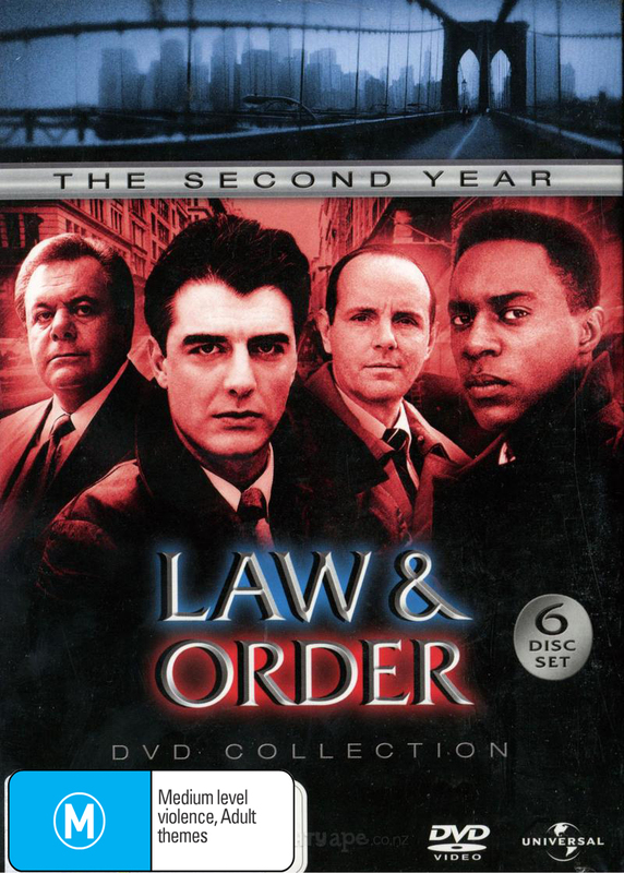 Law & Order - The 2nd Year DVD Collection (6 Disc Slimline Set) on DVD