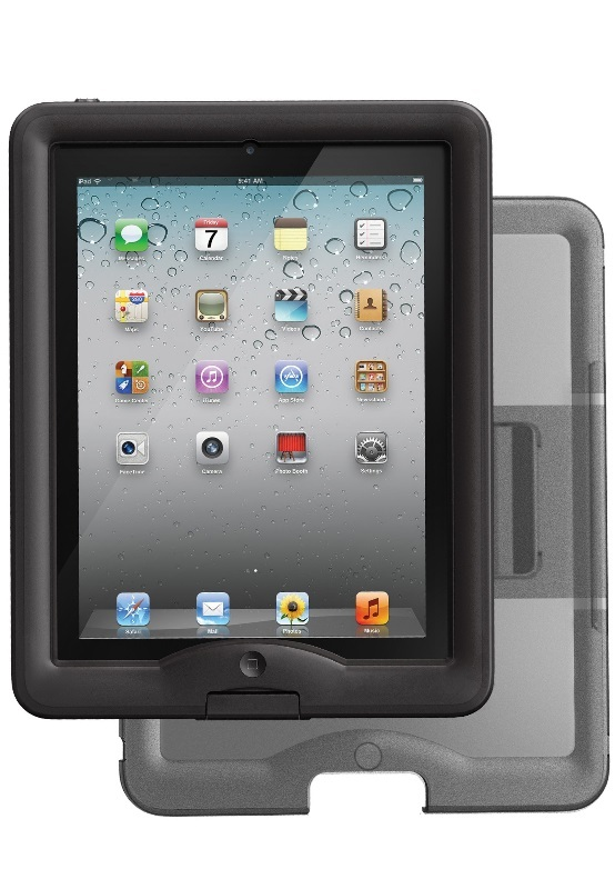 competitive price 3495e 12323 LifeProof Case & Cover/Stand for iPad - Black | at Mighty Ape NZ