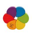 Hape: Rainbow Rattle