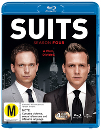 Suits - Season Four on Blu-ray