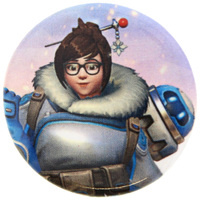 Overwatch Mei Button