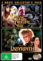 Dark Crystal / Labyrinth - 2 Movie Collector's Pack (2 Disc Set) on DVD