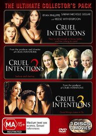 Cruel Intentions - Ultimate Collector's Pack (3 Disc Set) on DVD