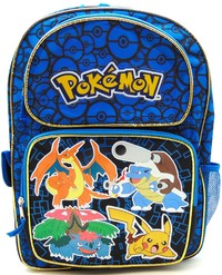 Pokemon Blue School Backpack image