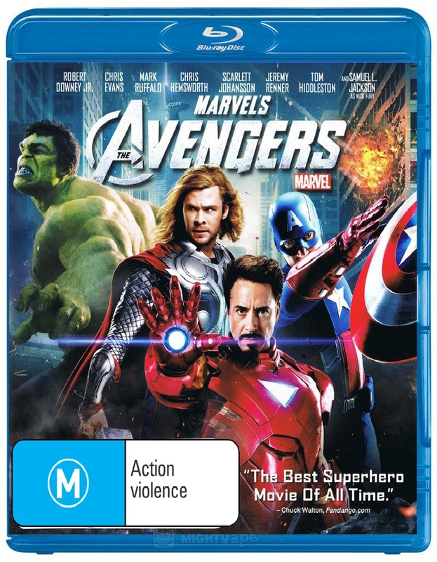 The Avengers on Blu-ray