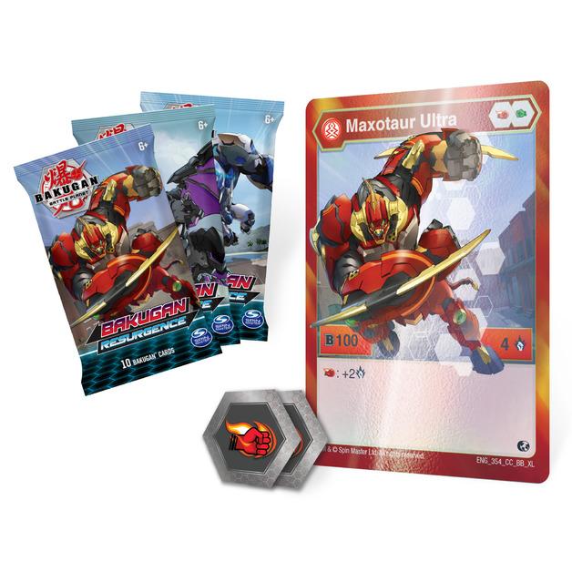 Bakugan: Battle Planet - Card Collector Pack (Maxotaur Ultra)