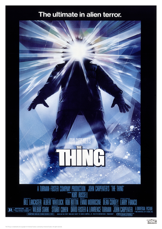 The Thing: Premium Art Print - Classic Poster