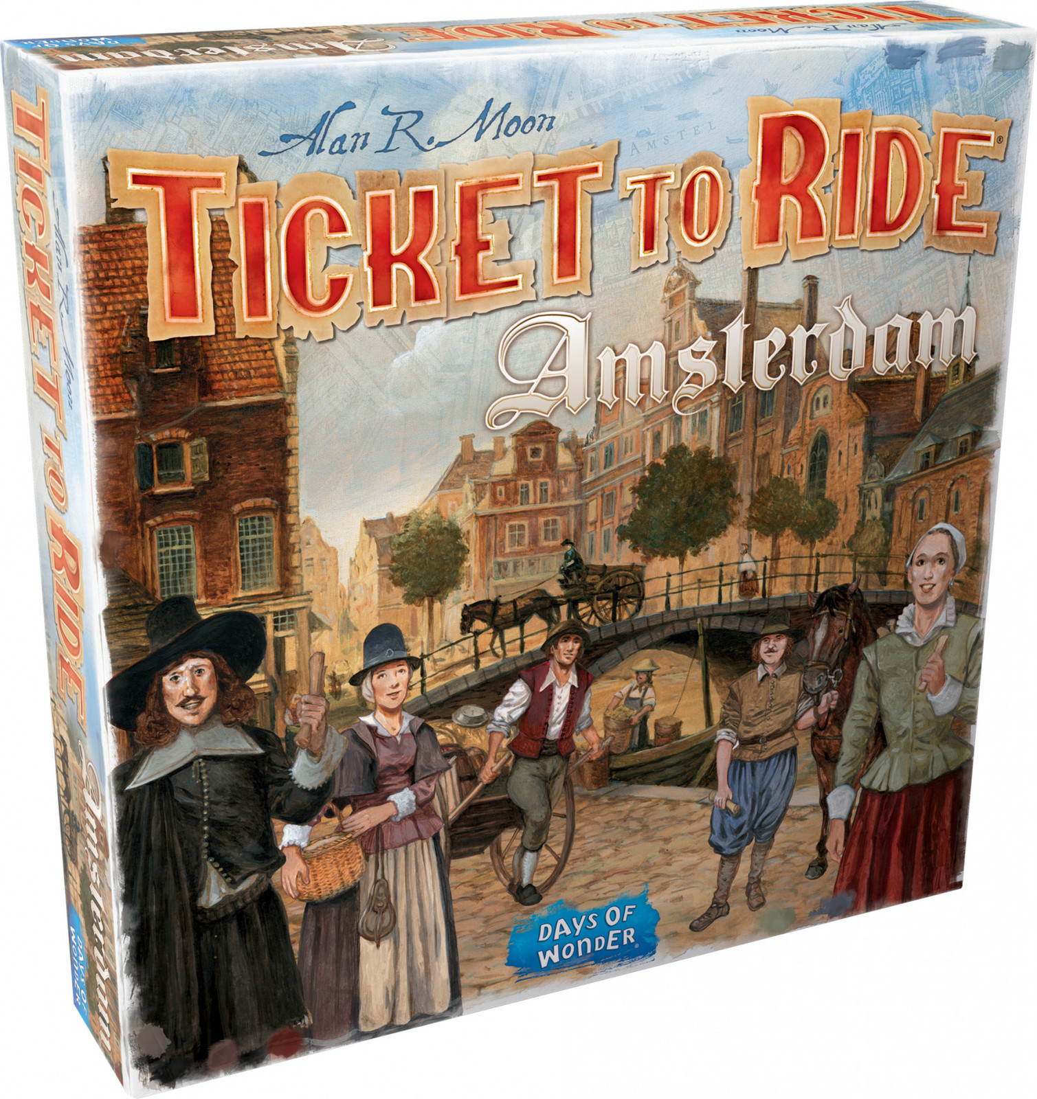 Ticket to Ride - Amsterdam image