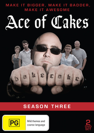 Ace of Cakes - Season 3 on DVD