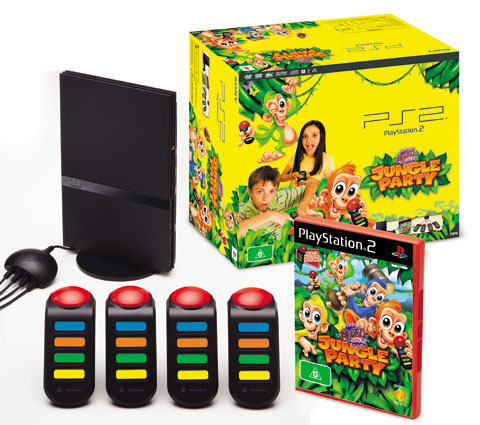 Playstation 2 Buzz! Junior Jungle Party Bundle for PlayStation 2