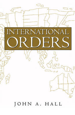 International Orders by John A Hall