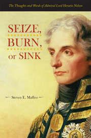Seize, Burn or Sink by Steven E. Maffeo image