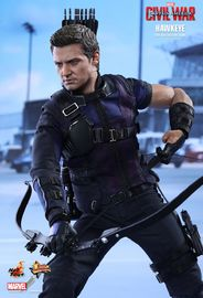 "Captain America 3 - Hawkeye 12"" Figure"