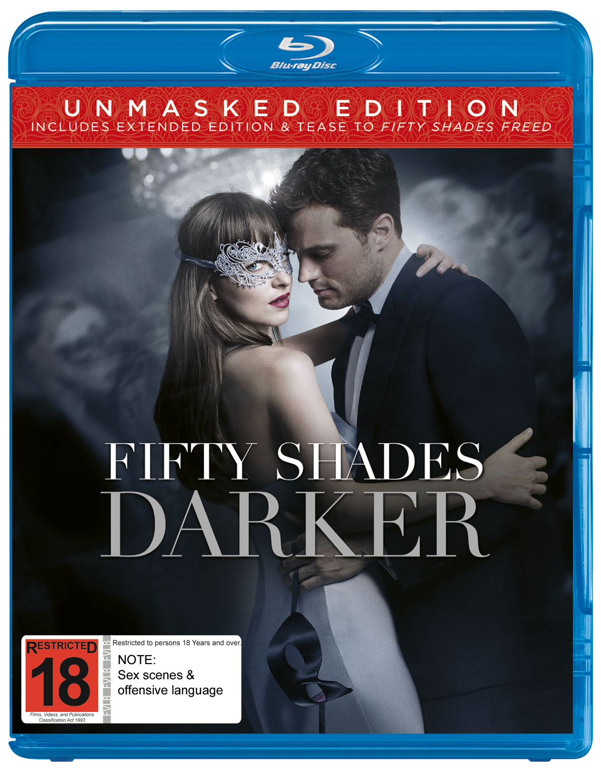 Fifty Shades Darker Blu Ray In Stock Buy Now At Mighty Ape Nz